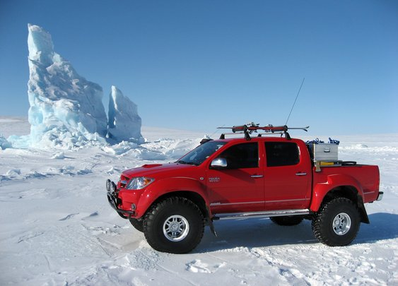 The only thing I would drive to the North Pole.