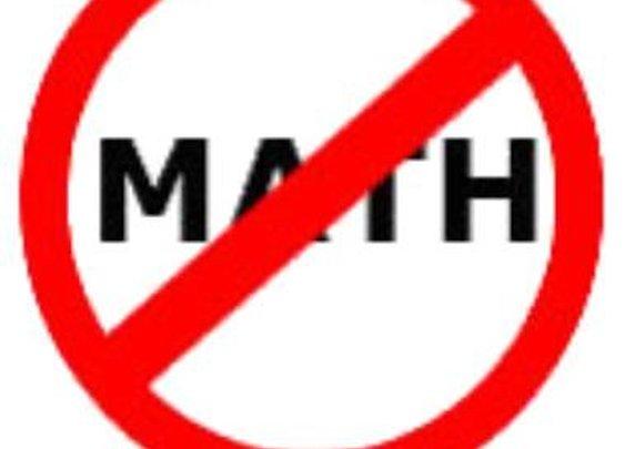 I HATE MATH!