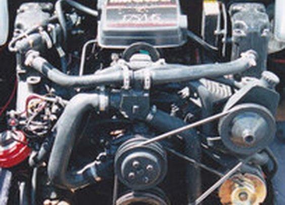 Manly Mercruiser 4.3 L Chevy Engine