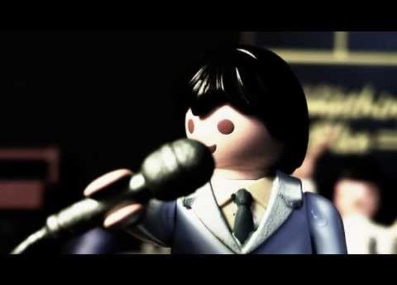 Playmobil Stop Motion - Joy Division - Transmission      - YouTube