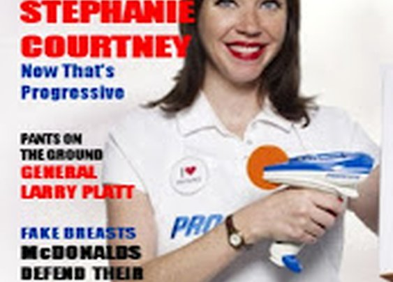 Slap The Penguin: Playboy goes with the Flo