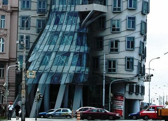 project: dancing house, prague, czech republic designer: gehry partners