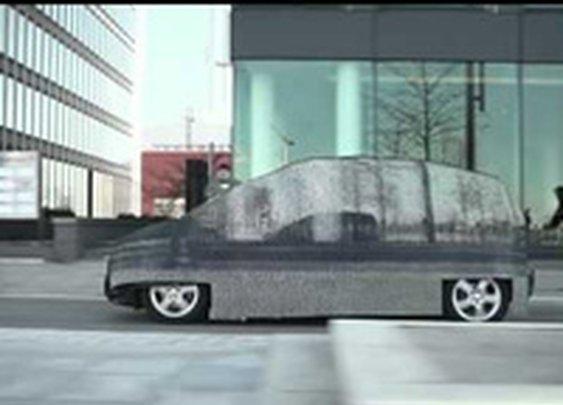 Mercedes Makes an Invisible Minivan
