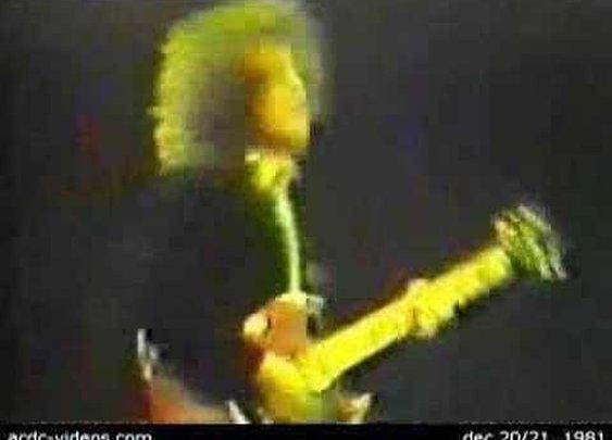 AC/DC Back in Black live 1981      - YouTube