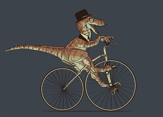 Villainous Victorian Velociraptor.