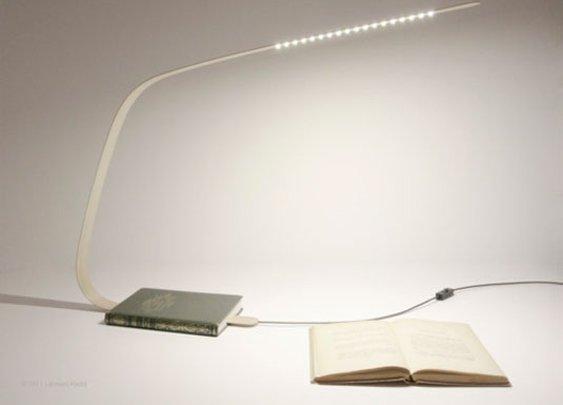Wild Cherry Bookmark Lamp by Leonard Kadid