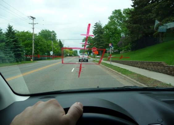 How to vent your road rage with just a dry erase marker
