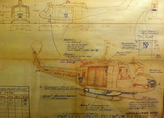 The Schematics of Colonel Kilgore's Helicopter