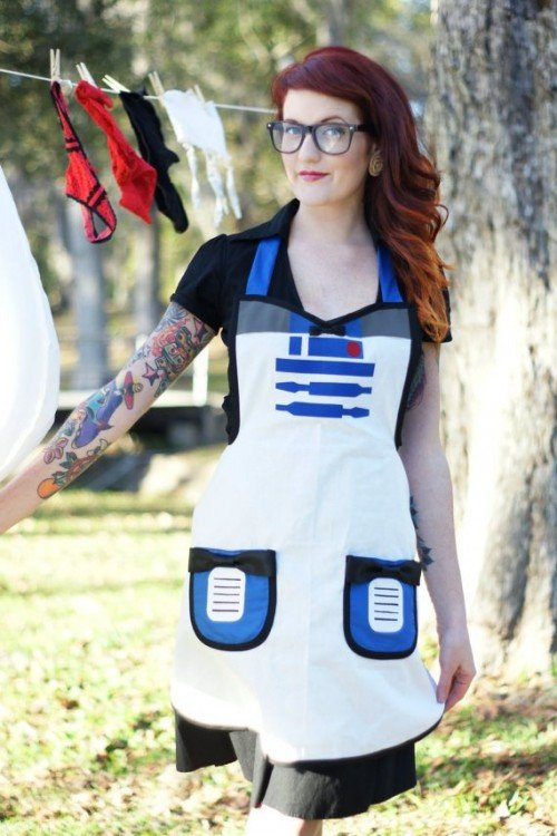 Now That's A Sexy Star Wars Apron