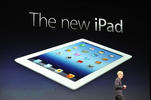 The new iPad is official, with Retina display, LTE and A5X CPU. Available March 16th