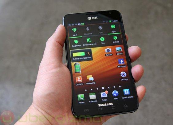 Samsung Galaxy Note: 2 million shipped | Ubergizmo
