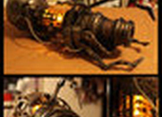 Aperture Steampunk Handheld Portal Device