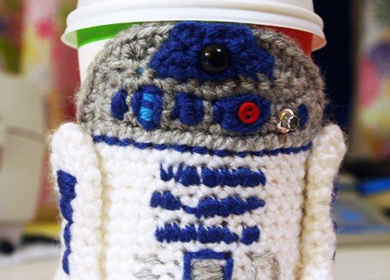 Twinkie's blargh » Your caramel macchi-R2, Mr. Lucas.