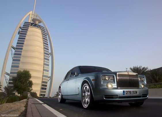 Rolls in Dubai