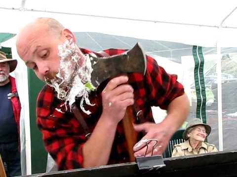 When a razor just won't do.      - YouTube