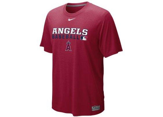 Nike Store. Nike Team Issue Legend (MLB Angels) Men's T-Shirt