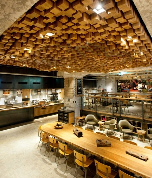 Starbucks World's First Coffee 'Laboratory' Opens. Amazing design!