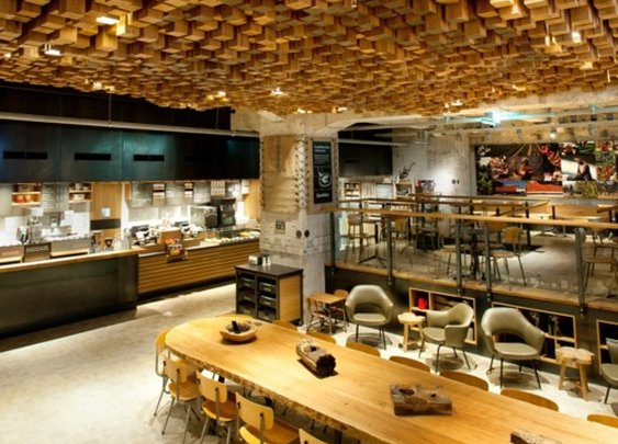 Starbucks World's First Coffee 'Laboratory' Opens. Amazing design!