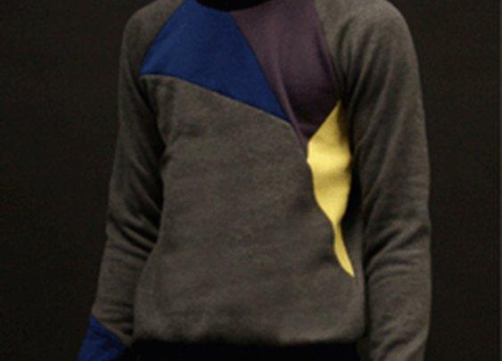 Geometric Sweatshirts by designer Alexander Campaz