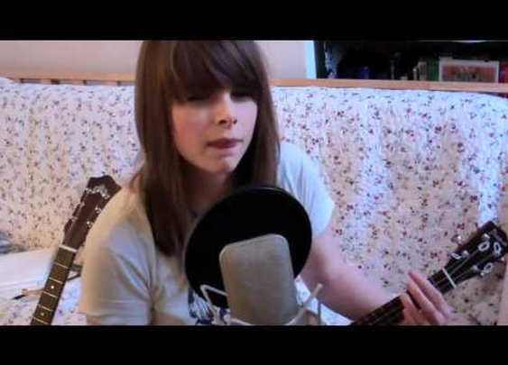 Sophie Madeleine - Cover Song #08 - Radar Detector by Darwin Deez      - YouTube