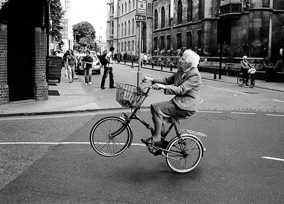 Manly men have grandmas like this: