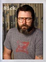 Offerman Woodshop Nick Offerman (AKA Ron F*&kin' Swanson)