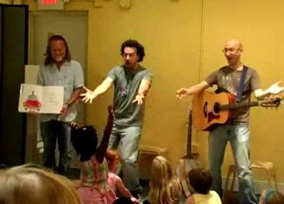 Pete the Cat - I Love My White Shoes - Live Telling
