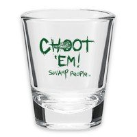 Swamp People Shot Glass