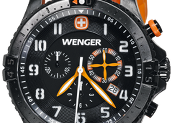 Squadron Rescue Chrono 77058 Wenger Swiss Watch