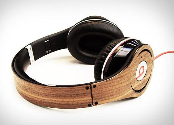 Lazerwood Beats Headphone Skin   Uncrate