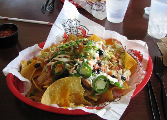 Nachos from Tijuana Flats