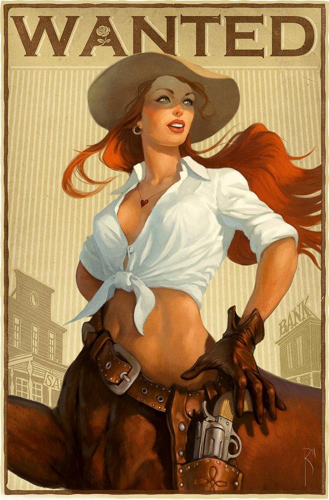 Horsegirl by ~Waldemar-Kazak on deviantART