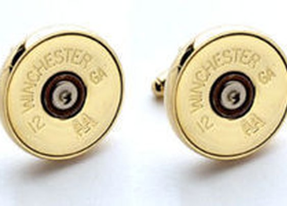 12 GA Shotgun Shell Cufflinks
