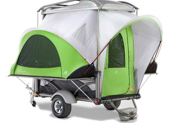 SylvanSport   the GO   Lightweight Unique Camping Travel Trailer