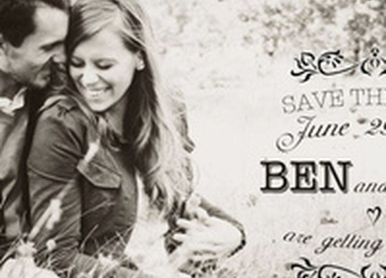 "You won't believe what this guy hid in his ""Save the Date"" notices"