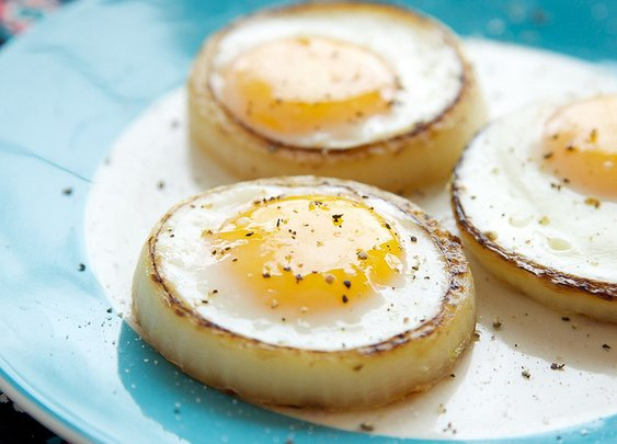 Onion Rings Eggs