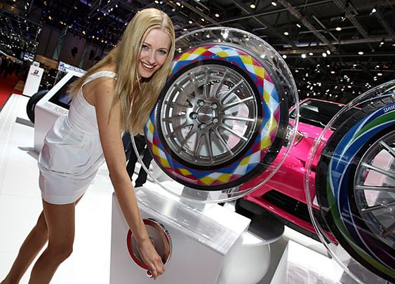 Ridestory  » Blog Archive   » New tire technology on display at Geneva Motor Show
