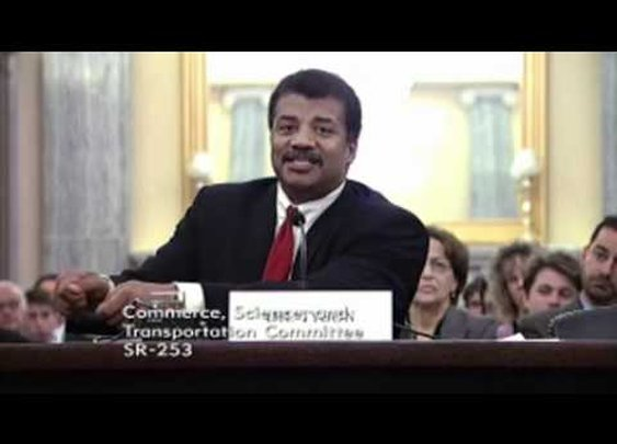 Neil deGrasse Tyson Testifies Before Senate Science Committee, March 7, 2012      - YouTube