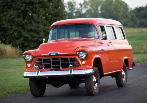 1956 Chevrolet Suburban | Hemmings Daily