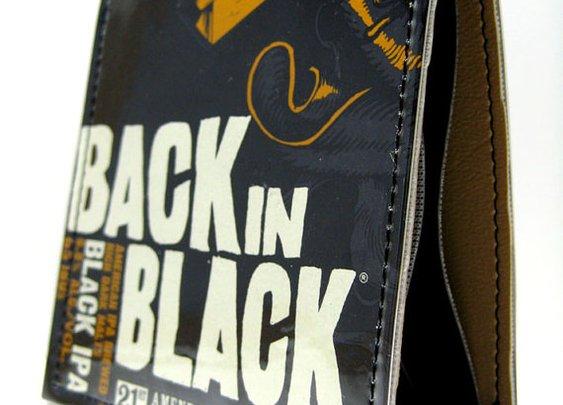 Back in Black Wallet by MindysDesigns on Etsy
