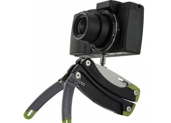 Gerber's Mini-Tripod Comes With a Knife, Other Tools : Discovery Channel