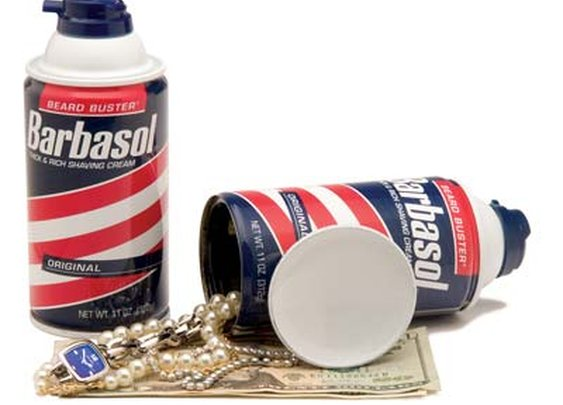 Barbasol Diversion Can Safe