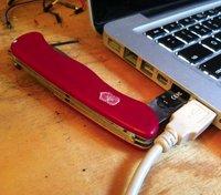 Fancy - Swiss Army Knife USB Drive