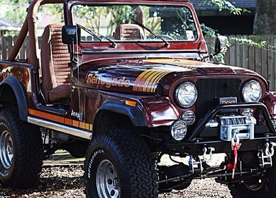 My 1981 Jeep CJ-7