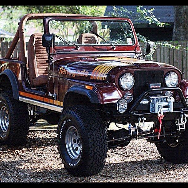 My 1981 Jeep CJ-7