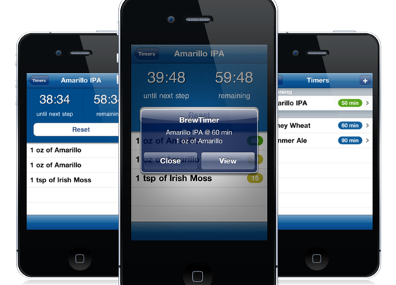 BrewTimer for iPhone
