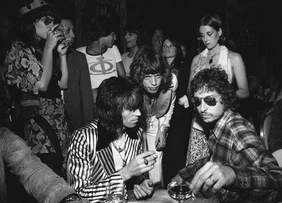 Mick, Keith and Bob