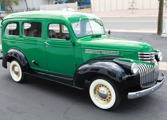 1946 Chevrolet Suburban | Hemmings Daily