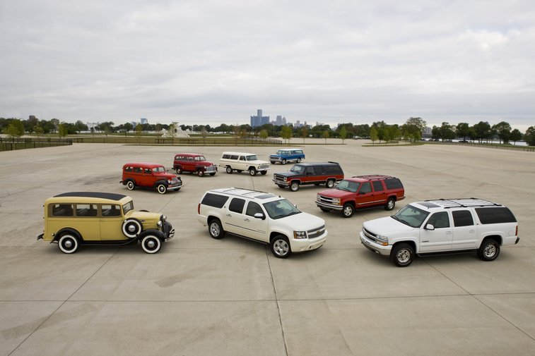 Chevrolet Suburban At 75 [now 77]: A Historical Look at an American Icon | Chevrolet