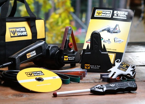 Work Sharp Tools - Work Sharp Knife and Tool Sharpener Infomercial